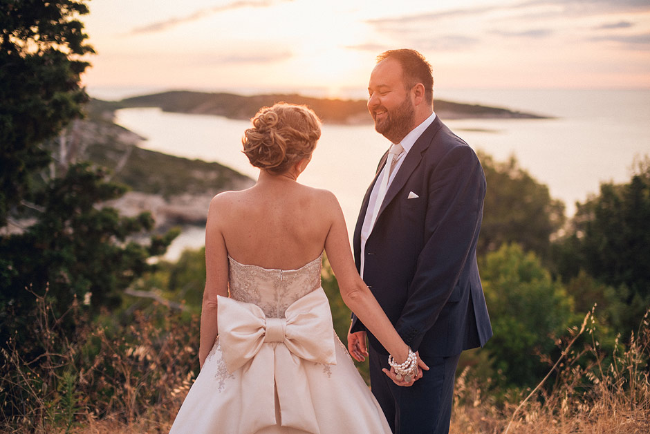 fort george wedding vis croatia