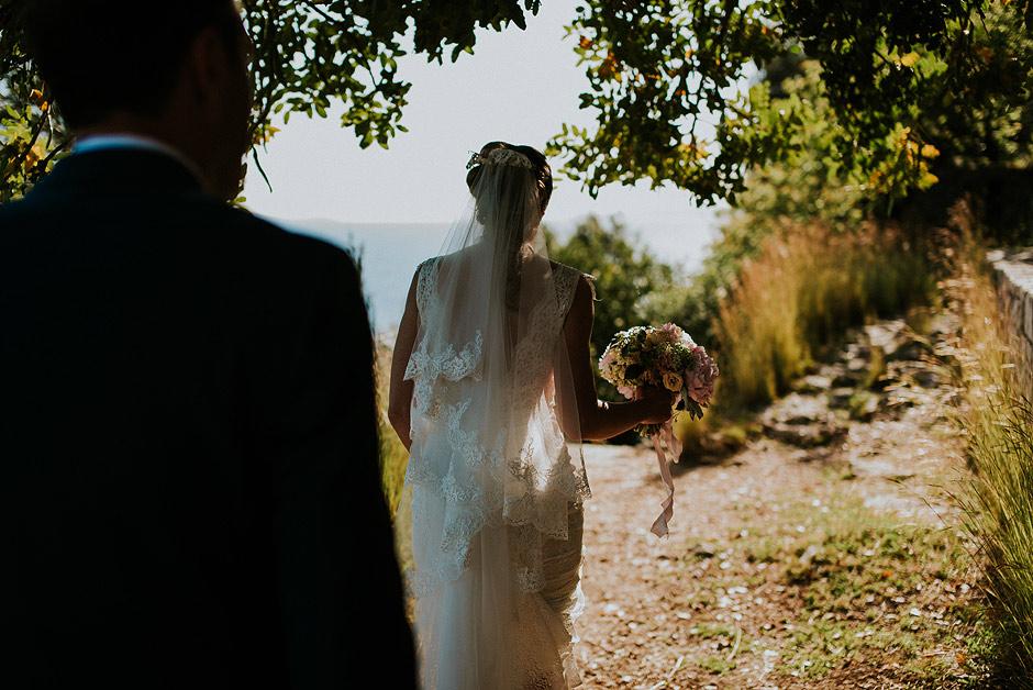 Wedding couple on Ciovo