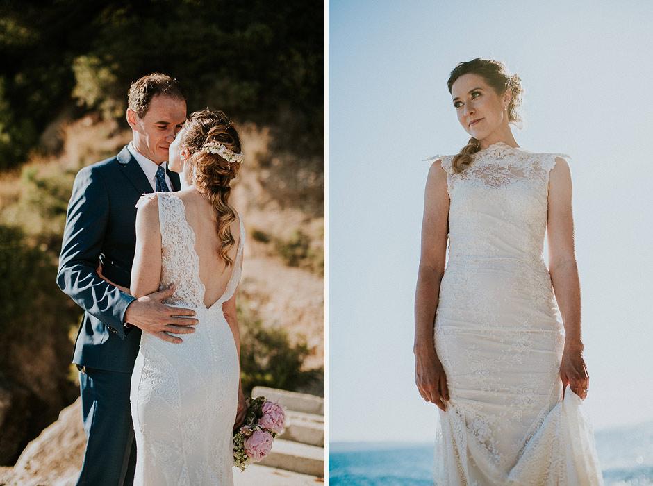 wedding couple adriatic sea