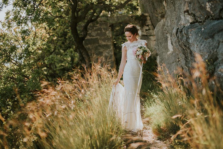 Bride in Croatia