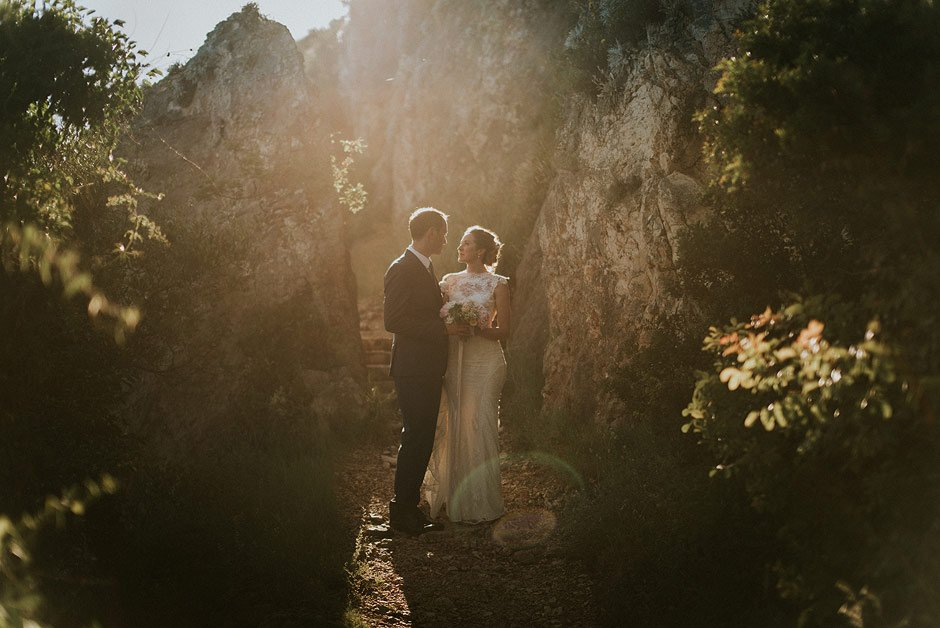 wedding couple in croatia