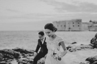 Wedding couple dubrovnik