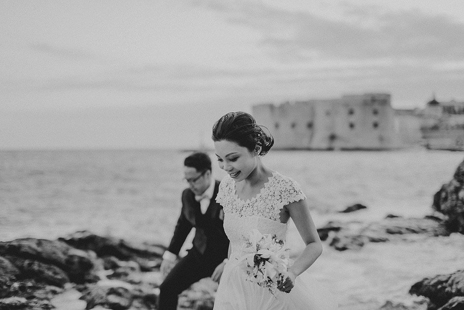 Wedding couple dubrovnik