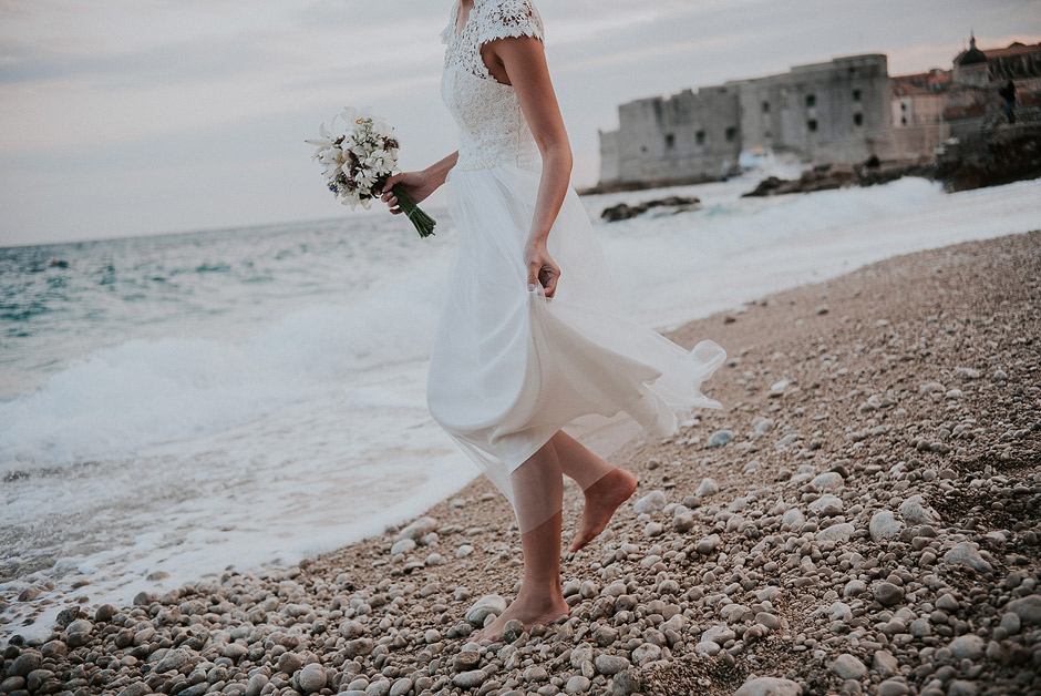 Wedding dress dubrovnik