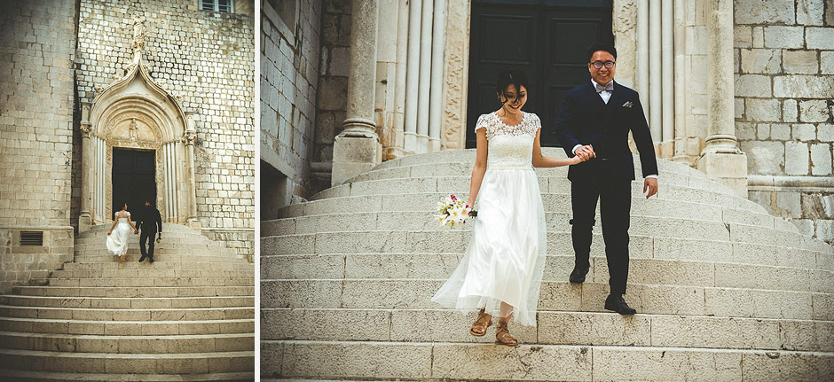 Dubrovnik wedding moment