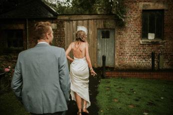England wedding bride and groom photo
