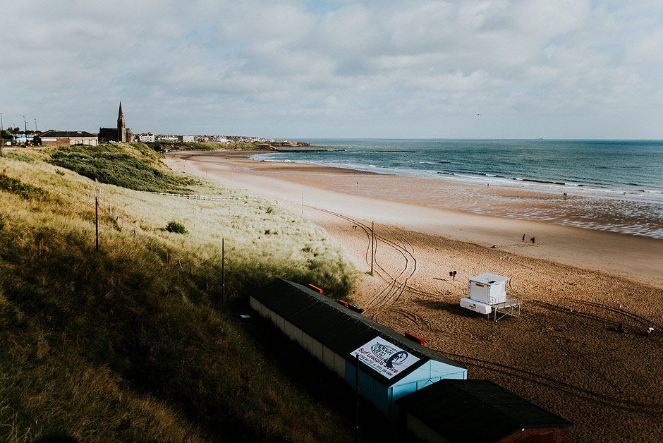 Cullerfornia beach in tynemouth