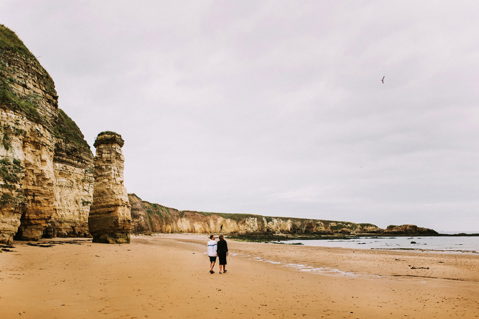 Marsden beach engagement photo