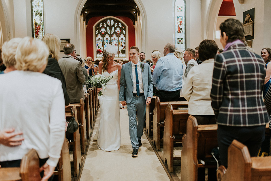 Newcastle church wedding