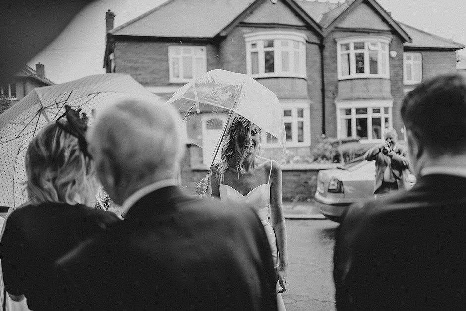 Bride in tynemouth