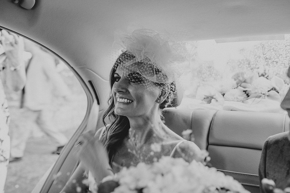 Happy bride in uk