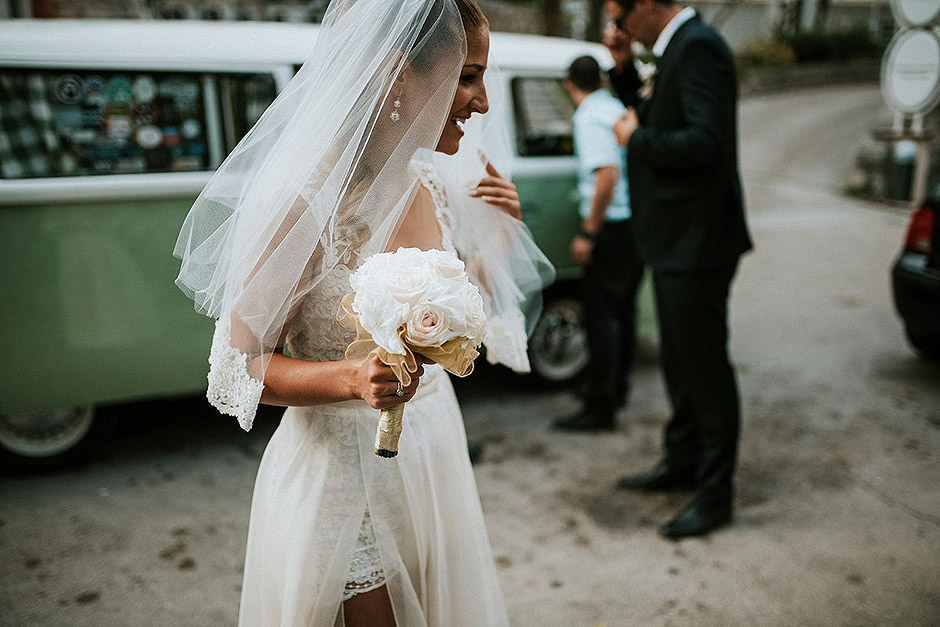 vw bully bride