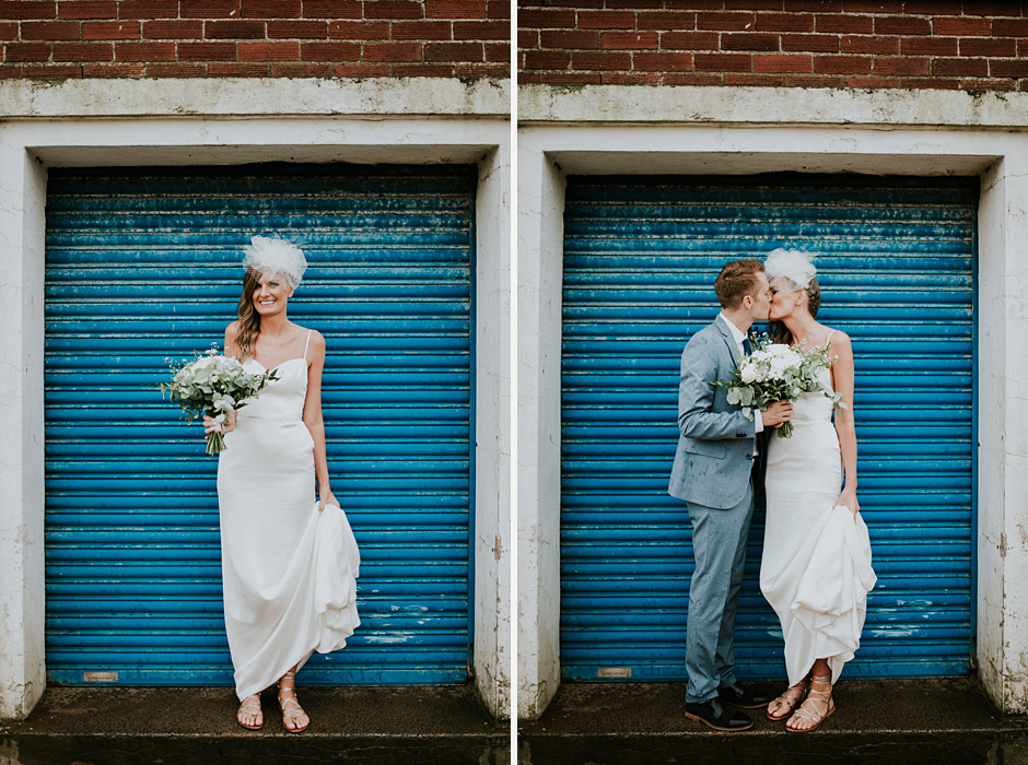 Tynemouth wedding couple