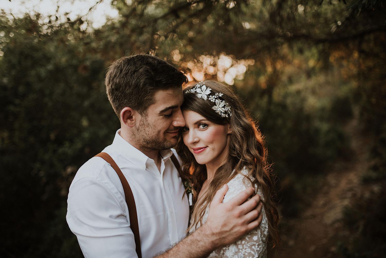 palmizana wedding couple
