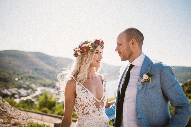 Vis wedding in Croatia