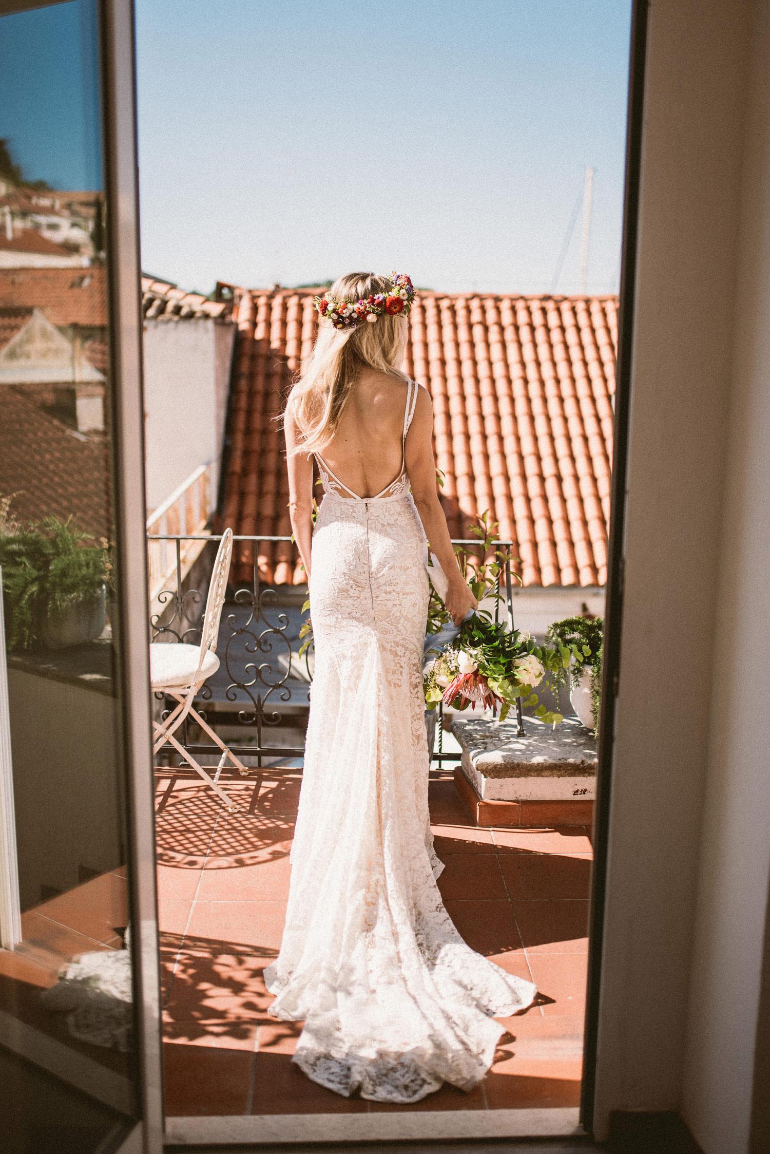 Bride in Vis, Croatia