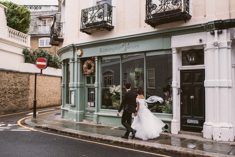 Kensington wedding