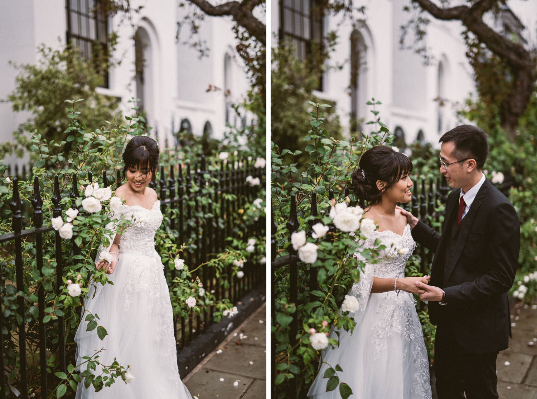 Asian couple in London